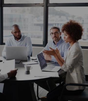 IT company meeting